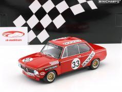 BMW 2002 #33 6h Nürburgring 1972 Nordström, Tobiasson 1:18 Minichamps