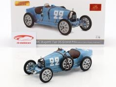 Bugatti Type 35 Grand Prix #22 Nation Colour Project France 1:18 CMC