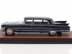 Cadillac Seventy Five Fleetwood year 1962 dark blue 1:43 GLM