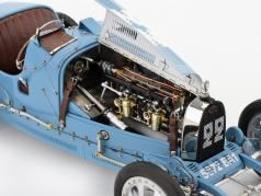 Bugatti tipo 35 Grand Prix #22 Nation Colour Project Francia 1:18 CMC