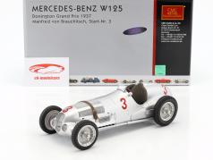 Mercedes-Benz W125 #3 Donington Grand Prix 1937 Manfred von Brauchitsch 1:18 CMC