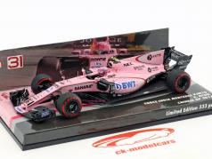 Esteban Ocon Force India VJM10 #31 GP Chine formule 1 2017 1:43 Minichamps