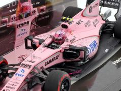 Esteban Ocon Force India VJM10 #31 GP Китай формула 1 2017 1:43 Minichamps