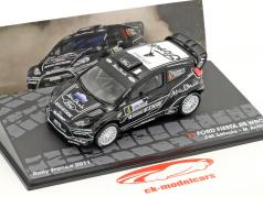 Ford Fiesta RS WRC #4 4th Rallye France 2011 Latvala, Anttila 1:43 Altaya