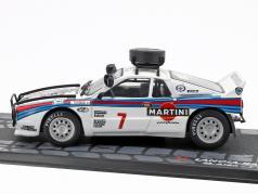 Lancia Rally 037 #7 4th Rallye Safari 1984 Alen, Kivimäki 1:43 Altaya