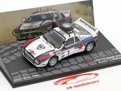 Lancia Rally 037 #7 4th Rallye Safari 1984 Alen, Kivimäki 1:43 Altaya