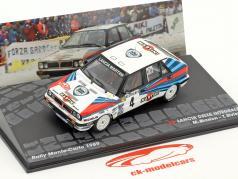 Lancia Delta Integrale #4 vincitore Rallye Monte Carlo 1989 Biasion, Siviero 1:43 Altaya