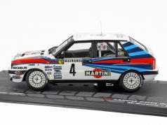 Lancia Delta Integrale #4 Winner Rallye Monte Carlo 1989 Biasion, Siviero 1:43 Altaya
