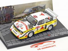 Audi Quattro Sport S1 Rallye Sanremo 1985 W. Röhrl, C. Geistdörfer 1:43 Altaya