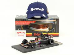 Stefan Bellof Tyrrell 012 #4 monaco GP formula 1 1984 con berretto 1:18 Minichamps
