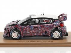 Citroen C3 WRC prova auto 2017 1:43 Spark