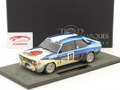 Fiat 131 Abarth Dirty Version #10 vincitore Rallye Monte Carlo 1980 Röhrl, Geistdörfer 1:18 TopMarques