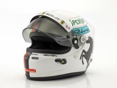 Sebastian Vettel Ferrari SF71H formula 1 2018 casco 1:2 Arai