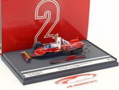 Gilles Villeneuve Ferrari 312T5 #2 accident italien GP formule 1 1980 1:43 Brumm