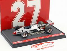 Gilles Villeneuve Ferrari 126C2 #27 2 ° San Marino GP formula 1 1982 1:43 Brumm