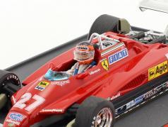 Gilles Villeneuve Ferrari 126C2 #27 belga GP ultimo stagione formula 1 1982 1:43 Brumm