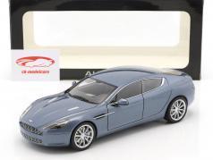 Aston Martin Rapide Année 2010 concours bleu 1:18 AUTOart