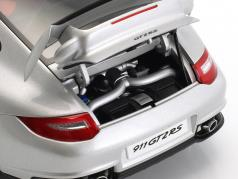 Porsche 911 (997) GT2 RS Year 2010 silver 1:18 AUTOart