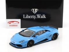 Lamborghini Huracan Liberty Walk LB-Works sky blue metallic 1:18 AUTOart