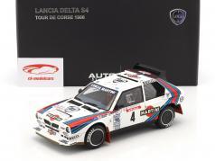 Lancia Delta S4 #4 Tour de Corse 1986 Toivonen, Cresto 1:18 AUTOart