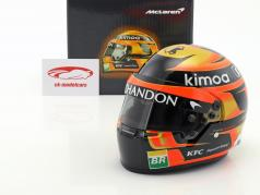 Stoffel Vandoorne #2 McLaren F1 Team formula 1 2018 casco 1:2 Bell