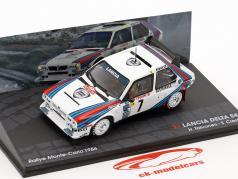 Lancia Delta S4 #7 Toivonen, Cresto Gagnant Rassemblement Monte Carlo 1986 1:43 Altaya