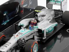 Lewis Hamilton Mercedes F1 W04 #10 Stati Uniti d'America GP formula 1 2013 1:43 Minichamps