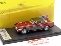 Ferrari 250 Europa Vignale year 1964 red metallic / black 1:43 BBR