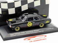 Opel Rekord 1900 black widow #201 Carolus Magnus Zolder 1968 Erich Bitter 1:43 Minichamps