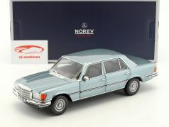 Mercedes-Benz 450 SEL 6.9 year 1976 blue gray metallic 1:18 Norev