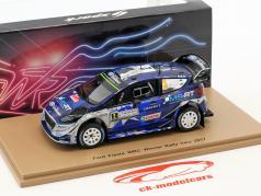 Ford Fiesta WRC #2 vincitore Rallye Italien 2017 Tänak, Järveoja 1:43 Spark