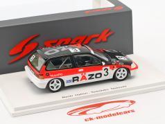 Honda Civic EF3 #3 4th Grp3 Suzuka GP 1989 Hattori, Tsutsumi 1:43 Spark
