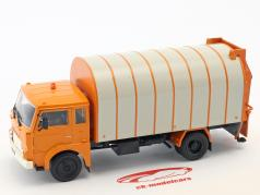 Jelcz 315 Smieciarka refuse lorry orange 1:43 Altaya