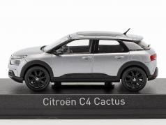 Citroen C4 Cactus année de construction 2018 aluminium gris 1:43 Norev