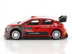 Citroen C3 WRC Official Presentation Version 2017 Jet Car 1:43 Norev