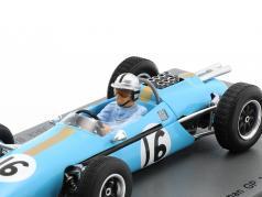 Jack Brabham Brabham BT3 #16 Germania GP formula 1 1962 1:43 Spark