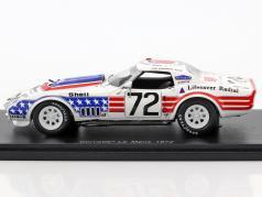 Chevrolet Corvette #72 24h LeMans 1972 Darniche, Cudini, Greenwood 1:43 Spark