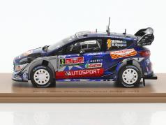 Ford Fiesta WRC #2 3 ° Rallye Gran Bretagna 2017 Tänak, Järveoja 1:43 Spark