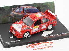 Mitsubishi Lancier Evo VI #1 Rassemblement Monte Carlo 1999 1:43 Ixo Altaya