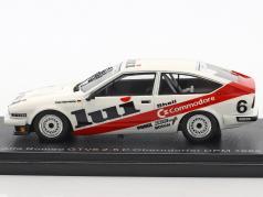 Alfa Romeo GTV6 2.5 #6 5th DPM 1985 Peter Oberndorfer 1:43 Neo