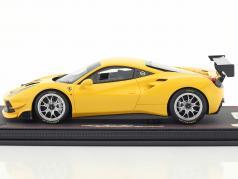 Ferrari 488 Challenge Construction year 2016 modena yellow 1:18 BBR