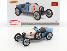 Bugatti tipo 35 Grand Prix #5 Nation Colour Project Argentina 1:18 CMC