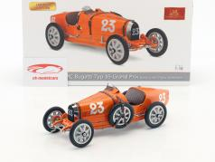Bugatti Type 35 Grand Prix #23 Nation Colour Project Netherlands 1:18 CMC