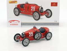 Bugatti Typ 35 Grand Prix #25 Nation Colour Project Portugal 1:18 CMC