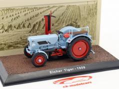Eicher Tiger trattore anno di costruzione 1959 azzurro 1:32 Atlas