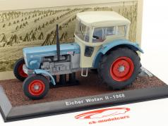Eicher Wotan II year 1968 blue / white 1:32 Atlas