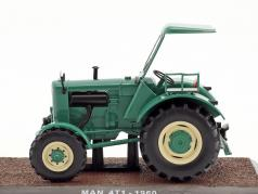 MAN 4TI Traktor year 1960 green 1:32 Atlas