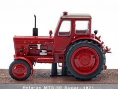 Belarus MTS-50 Super tractor year 1971 red 1:32 Atlas
