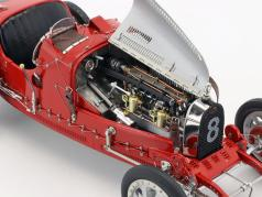 Bugatti Type 35 Grand Prix #8 Nation Colour Project Switzerland 1:18 CMC