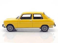 Simca 1100 Ti year 1975 yellow 1:18 OttOmobile